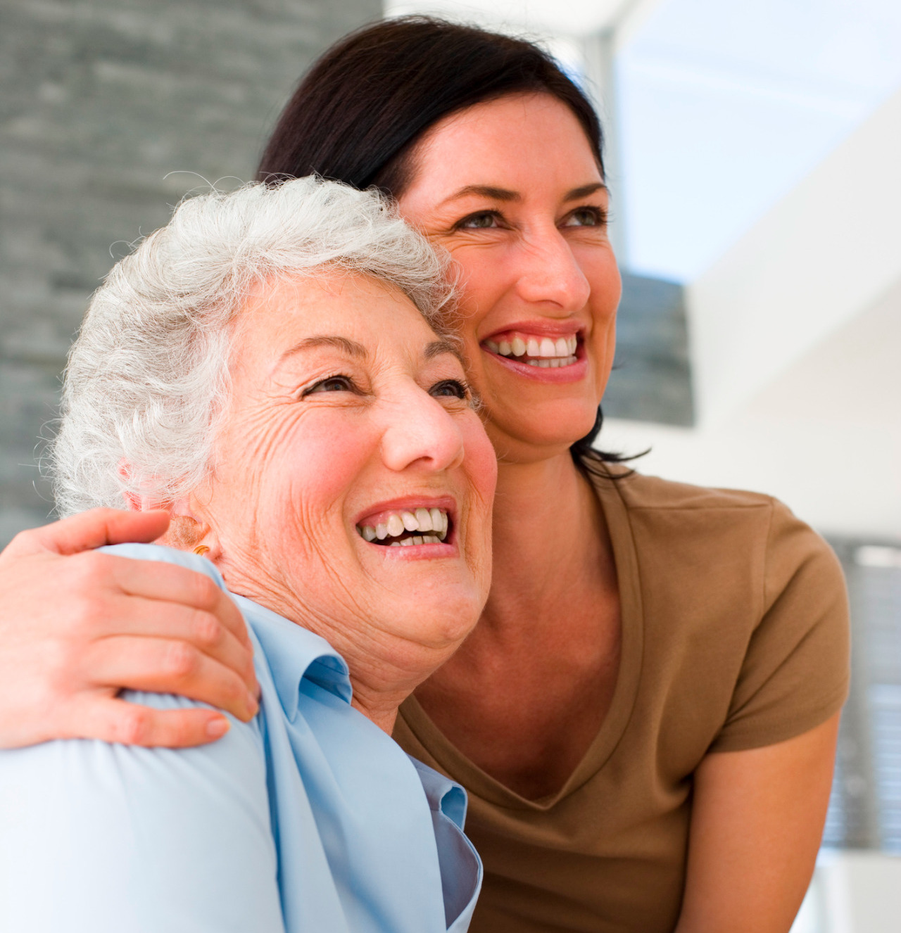 home care support for elderly man